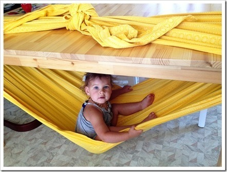 How to Make a Woven Wrap Hammock - Joyful Abode | Education and Recreation | Scoop.it