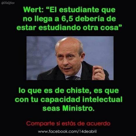 Wert,la culpa es nuestra por ... | Partido Popular, una visión crítica | Scoop.it