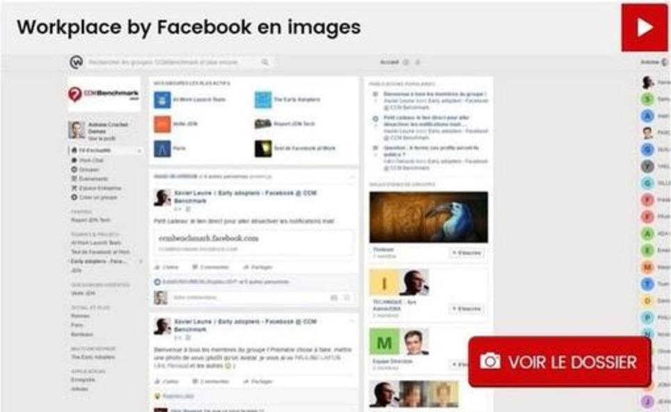 Facebook at Work se lance, et devient Workplace by Facebook | Les Médias Sociaux pour l'entreprise | Scoop.it