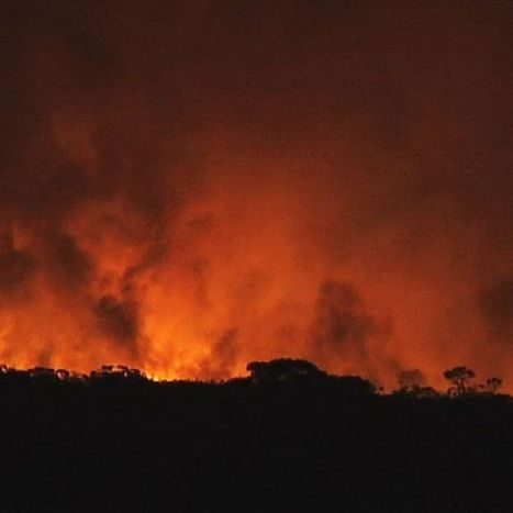 Victoria bakes: bushfires burn out of control, commuters urged to leave city early   Year 10 Geography   Scoop.it