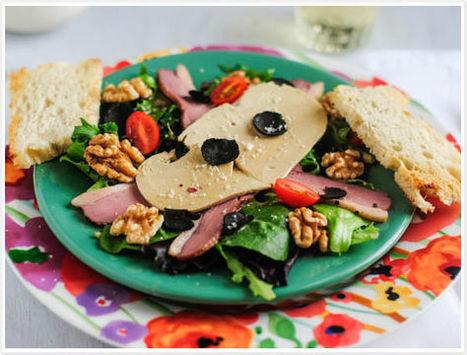 Foie Gras and Smoked Duck Salad   MyRecipes   Scoop.it