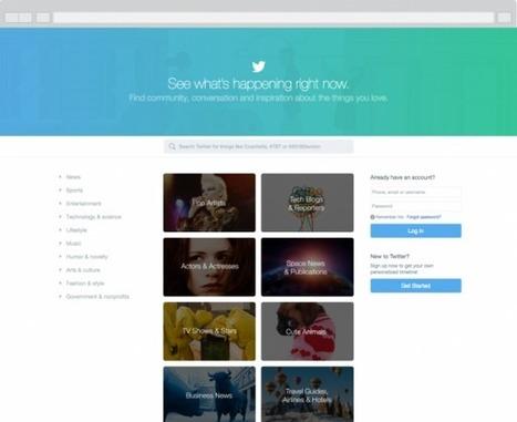 Twitter : Actualités en temps réel sur la nouvelle home page - WebLife | François MAGNAN  Formateur Consultant et Documentaliste | Scoop.it