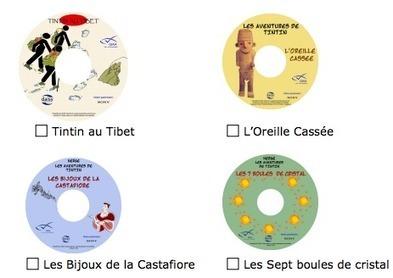 Les BD Tintin audiodécrites : des aventures graphiques à écouter | Malvoyants aveugles | Scoop.it