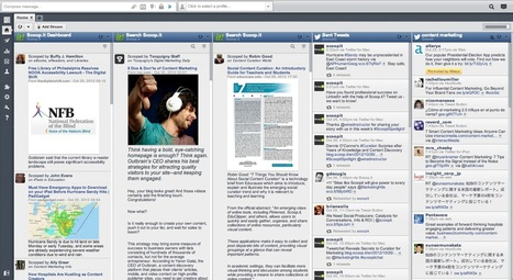 Scoop.it Now Runs on HootSuite's Social Media Dashboard | Time to Learn | Scoop.it