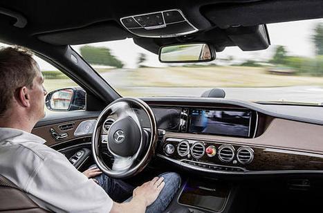 Une vidéo époustouflante de la voiture autonome Mercedes S 500 - Blog Kelrobot | Technologies innovantes | Scoop.it
