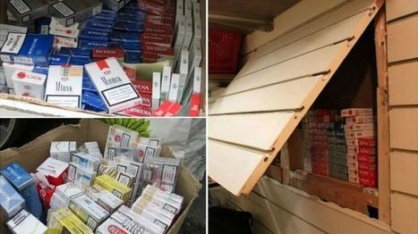 Manchester raids see more than a million cigarettes seized - BBC News | #ASMIC | Scoop.it