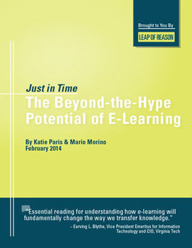 E-learning: Beyond the Hype - Leap of Reason | Innovations in Leadership Development | Scoop.it