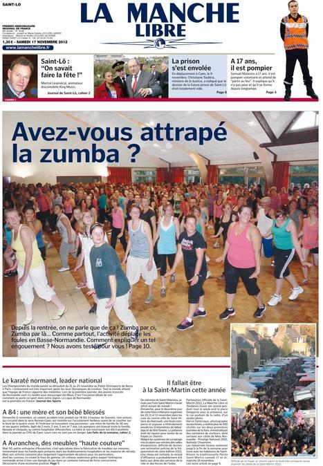 Dans son édition de cette semaine, La Manche Libre aussi se met à la Zumba...   Les news en normandie avec Cotentin-webradio   Scoop.it