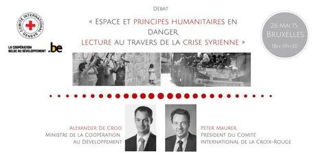 Débat sur le thème « Espace et principes humanitaires en danger » | International aid trends from a Belgian perspective | Scoop.it