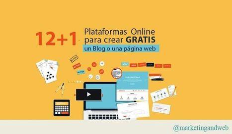 13 servicios para crear gratis un Blog o página web | Infografías | Scoop.it