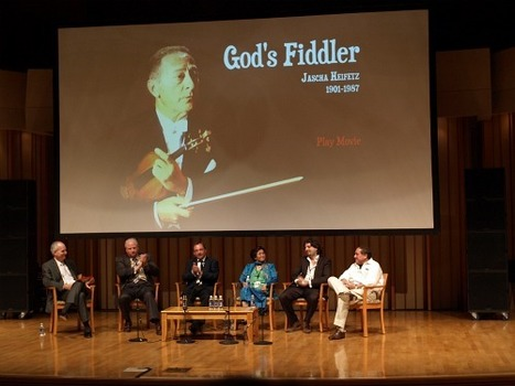 Jascha Heifetz, God's Fiddler | Violins | Scoop.it