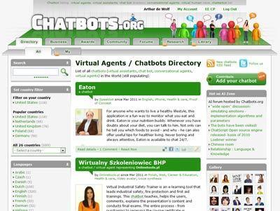 Chatbots.org: the largest website worldwide on intelligent avatars | skincare | Scoop.it