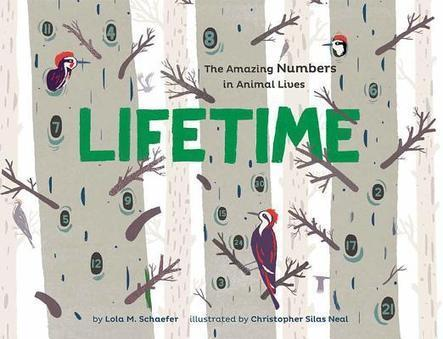 Lifetime: The Amazing Numbers in Animal Lives | IndieBound | Black-Eyed Susan Picture Book Nominees 2014-2015 | Scoop.it