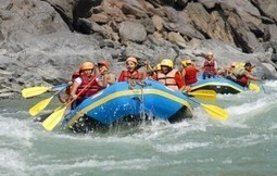 Experience the thrill of adventure during white water rafting in Rishikesh | Adventure Destinations in India | Scoop.it