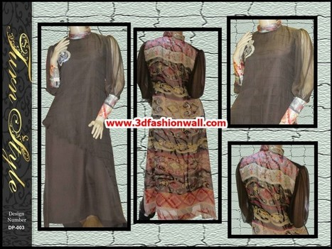 Turn Style Latest Silk Collection 2013 For Women | Pakistani dresses | Scoop.it