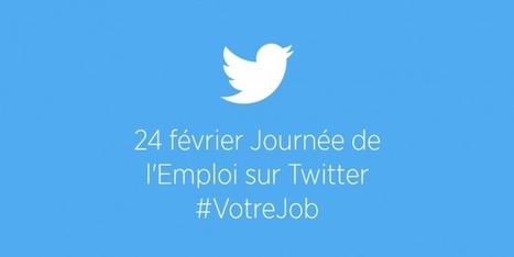 Nous organisons la première Journée Européenne de l'Emploi sur Twitter | Twitter Blogs | Emploi | Scoop.it