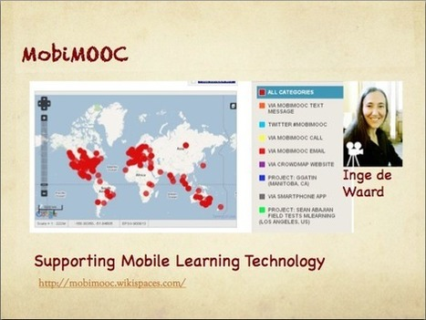 10. MobiMOOC - Supporting the Mobile Web - The MOOC Guide | Mobile Learning in Higher Education | Scoop.it