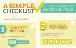 Optimiser votre Page Fan Facebook [infographie] | Infographie | Scoop.it