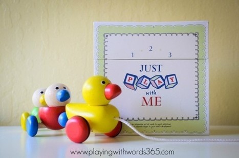 1-2-3 Just PLAY with Me: Review and Giveaway | Speech Language Pathology | Scoop.it