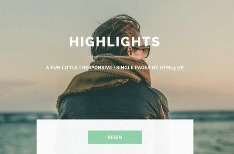 50 Impressive Free HTML Web Templates | rejdeep7830 | Scoop.it
