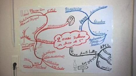 Un bilan après quelques semaines au collège en une carte heuristique | Classemapping | Scoop.it
