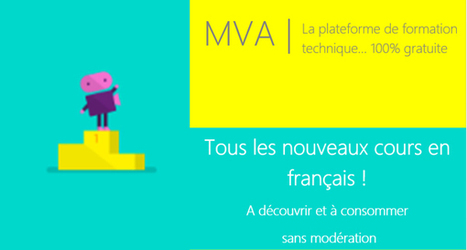 Microsoft Virtual Academy : Les nouveaux cours français (SysAdmin, Windows 10, Intune, Azure, BYOD…) | digitalcuration | Scoop.it