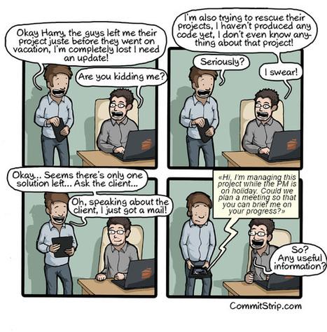 De l'importance de la passation de projet | Funny | Scoop.it