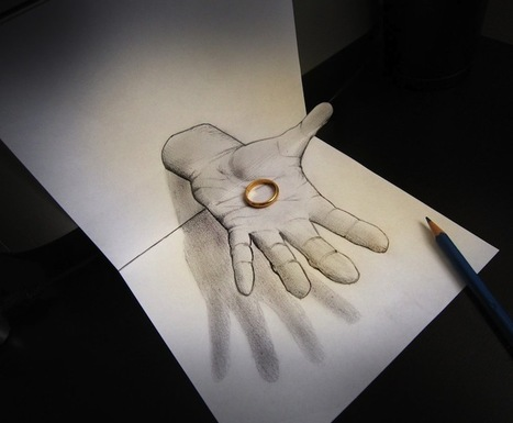 Mind-Boggling new Anamorphic Drawings | Cool Art | Scoop.it