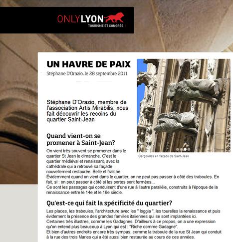 Un havre de paix | septembre 2011 | Only Lyon | ARTIS MIRABILIS : toute la revue de presse | Scoop.it