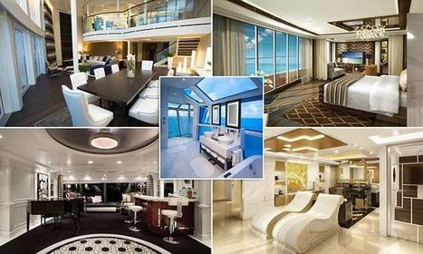 Inside the most luxurious cruise ship suites in the world | Mediterranean Cruise Advice | Scoop.it
