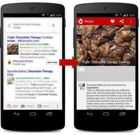 SEO : Google va indexer le contenu des applications Android | SEO - Référencement naturel | Scoop.it