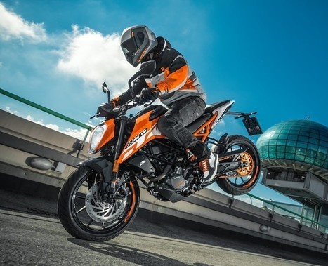 2017 KTM 200 Duke Unleashed! | Maxabout Motorcycles | Scoop.it