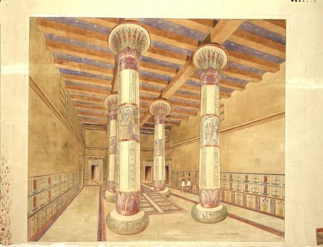 Museum Plans to Restore Ancient Egyptian Throne Room   Teaching history and archaeology to kids   Scoop.it