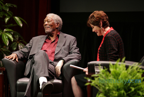 Morgan Freeman talks about — what else? — movies at Singletary Center - Lexington Herald Leader | morgan freeman | Scoop.it