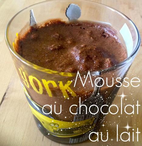Mousse au chocolat au lait pour les nuls [Recette] | Recettes faciles | Scoop.it