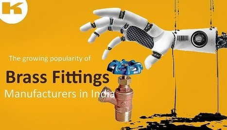 The growing popularity of brass fittings manufacturers in India   Kompass India   LinkedIn   Manufacturers Directory in India   Scoop.it