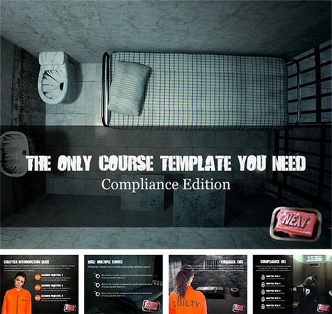 The Only E-Learning Course Template You'll Ever Need: Compliance Edition - Multimedia Learning | elearning&knowledge_management | Scoop.it