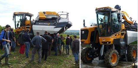 Machines à vendanger : la collection automne-hiver 2013 dévoilée | Agriculture en Gironde | Scoop.it