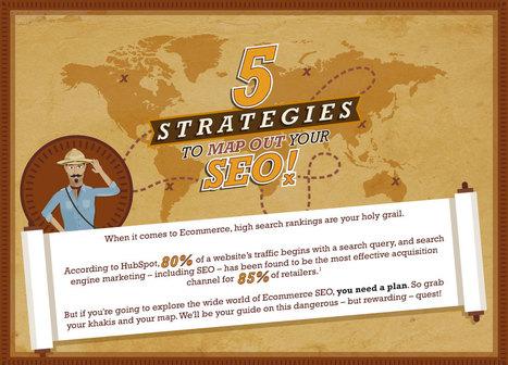 [#Infographie] 5 Stratégies Pour Optimiser Votre Seo | Web design | Scoop.it