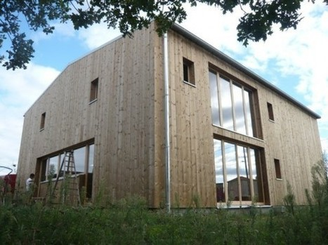[inspiration] Maison en bois contemporaine à 1000 €/m2 | The Architecture of the City | Scoop.it