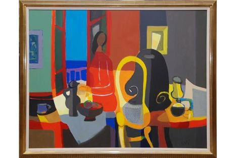 Elite Decorative Arts to sell seven works by African American artist Dox Thrash | Art Daily | Kiosque du monde : Amériques | Scoop.it