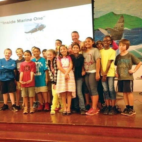 Hale Kula students learn about a boyhood passion : Hawaii Army Weekly | Daniel K. Inouye (Hale Kula) Elementary School - Where Eagles Soar | Scoop.it
