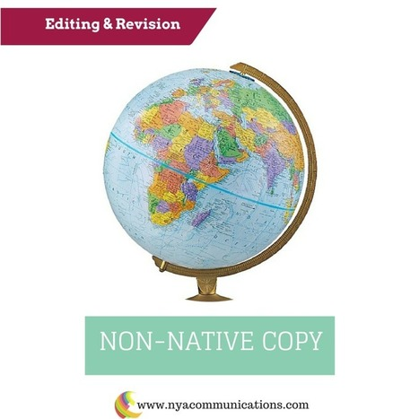 Editing of non-native copy | NYA Communications - There's no business like small business! German-English Marketing, Corporate Communications and PR Translations by Nicole Y. | Languages and translations | Scoop.it