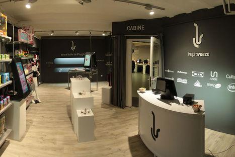 Digitalisation : la start-up Improveeze lance sa première boutique témoin | Pop-up shop, concept-store, new forms of retail | Scoop.it