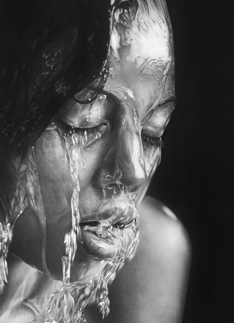 Realistic Pencil Portraits from Olga Larionova | Why are we in this mess and how do we get out if it? | Scoop.it