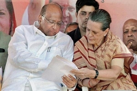 Sonia Gandhi to meet Sharad Pawar to end deadlock | Bangalore Wishesh | Scoop.it