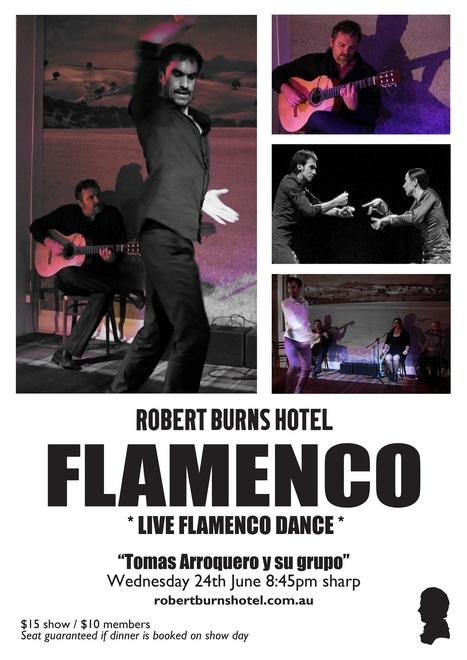 Live Flamenco Dance - Robert Burns Hotel Melbourne | Robert Burns Hotel | Scoop.it