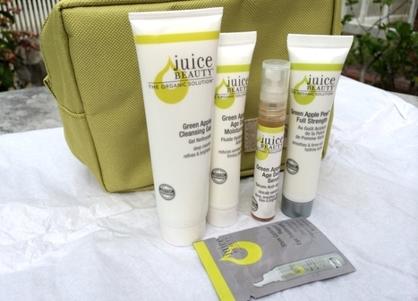 Beauty in a Bag – Juice Beauty Green Apple Travel Pack - Skin Care Terbaik | Life-Style | Scoop.it