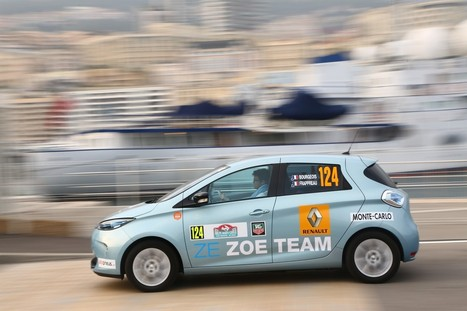 Monte Carlo Rally Goes Electric, Renault Zoe Takes Victory | Electric Vehicles | Scoop.it