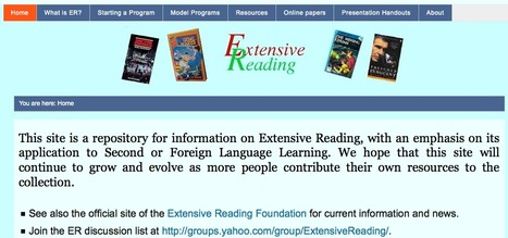 The Extensive Reading Pages | Reading -- the key to language learning | Teaching L2 Reading | Scoop.it